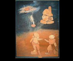 Kavicsokból és kövekből készített kép. #art #művész #kavicskép #pebbleart #élőkavicsok #stoneart #livepebbles #pebble