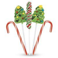 Santa Hat Pretzels, Christmas Dessert Recipes, Holiday Desserts Recipe