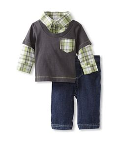 60% OFF Mini Muffin Baby 2fer Jean Set (Navy)