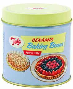 Tala Retro Keramik-Backbohnen in Dose, 700 g: Amazon.de: Küche & Haushalt