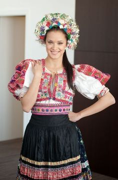 Kroj Slovak Folk Dress