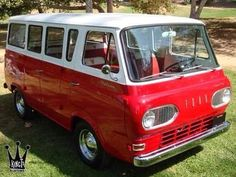 Ford Van - my mom had one of these. It was pretty cool