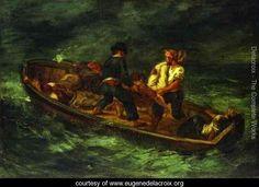 After the Shipwreck - Eugene Delacroix - www.eugenedelacroix.org