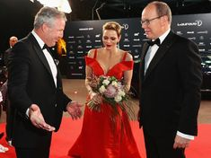 Prince Albert and Princess Charlene at  2017 Laureus Awards