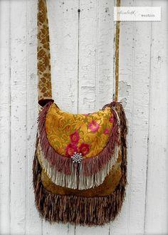 Couture Carpet Bag by Elizabeth and Weston  by ElizabethandWeston, $145.00