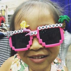 "De Los Ninjas on Instagram: ""She's #madeofawesome are you?!?  Get your custom #sunnies from @delosninjas and #expressyourself #shades #ninjastyle #summer #toddlerlife #toocute #kawaii #awesome #mermaids"""