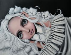 Another great painting from artist, Angelina Wrona