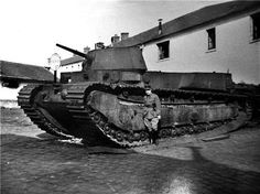 FCM 1A - French prewar heavy tank prototype ~ BFD