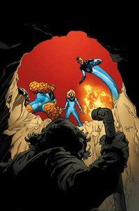 Ultimate Fantastic Four Annual by Stuart Immonen Fantastic Four Comics, Mister Fantastic, Marvel Comics, Marvel Dc, Comic Book Heroes, Comic Books Art, Book Art, Jack Kirby, Marvel Universe