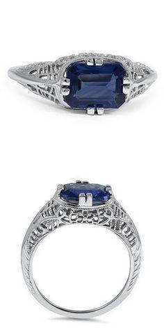 White Gold Loreen Ring