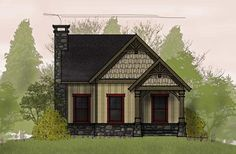 small-cottage-floor-plans  great rental home potential