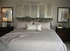 Home-Dzine - Repurpose louvre doors or pine shutters