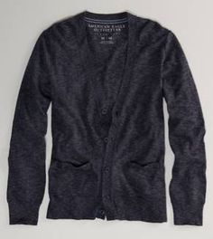 THIS. You can do SO much with this! So nice...  Solid Cardigan, American Eagle.