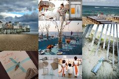 blue-orange-beach-wedding-inspiration-board