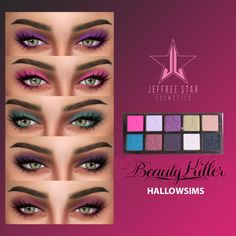 Star Beauty Killer Palette at Hallow Sims via Sims 4 Updates