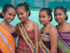 East Timor Menari groep.