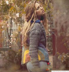 De las Bolivianas tejidos artesanales. Sacos tejidos.