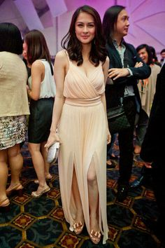 Dress Attire, Dress Outfits, Fashion Outfits, Womens Fashion, Marian Rivera Wedding Gown, Celebrity Photos, Celebrity Style, Filipina Beauty, Celebs