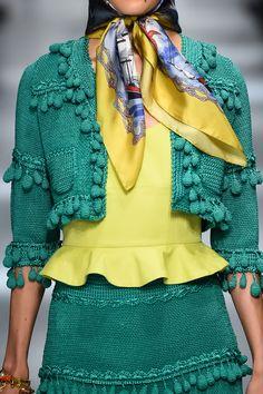 KEITA MARUYAMA, Tokyo SS 2016 - (Details) Crochet Jacket