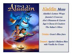 Disney Meal #21 - Aladdin