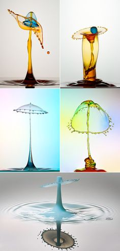 HIGH-SPEED WATER DROP PHOTOGRAPHY