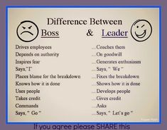 I hope that every bad boss out there sees this. Please SHARE this one.