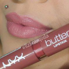 NYX Butter Lipstick color Pops Explosif