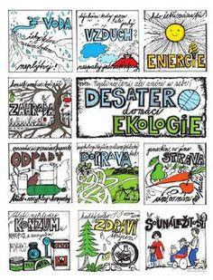 Pracovní listy   Středisko ekologické výchovy a etiky Rýchory – SEVER Earth Day Activities, Elementary Science, Learning Games, School Projects, Geography, No Time For Me, Thats Not My, Homeschool, Teaching