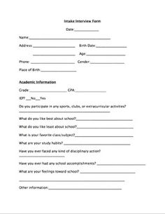 School Counseling Referral Form  School Counselor Counselling