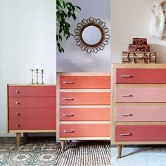 ���👜👡3 drôles de dames 👡👜💅 .  #commode #commodevintage #decovintage #vintagehome #vintagedecor #renovationdemeubles #emmaus #terracotta Deco, Decor, Vintage House, Commode, Furniture, Home, Commode Vintage, Vintage Decor, Home Decor