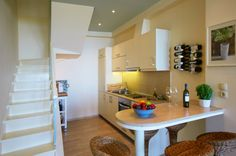 Enjoy your complementary wine or coffee in this fully equipped kitchen...