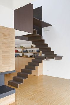 New Ideas Loft Stairs Industrial Stairways Interior Staircase, Stairs Architecture, Staircase Design, Interior Architecture, Interior Design, Stair Design, Loft Design, Loft Stairs, House Stairs