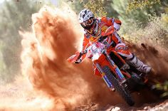 Think this is David Knight on his KTM...killer roost blast...