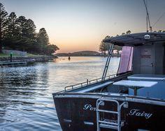 Port fairy river mouth #portfairy #portpics #boat #river #moyne #visitvictoria #seegor #fishing #sunrise #still #travelvictoria #bcf #oz #canon #3284 by paulmoloneyphotography