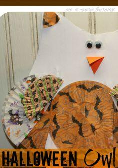 halloween owl: fun f