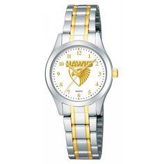 Buy Official AFL Hawthorn Hawks Ladies Watch