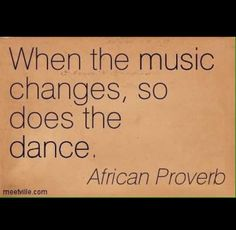 Embrace Change! And dance