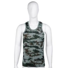 Sports Clothing Fine 2016 Running Vests Military Style Men Vest Camouflage Tank Top Tight Sport Skinny Best Seller Excellent Quality