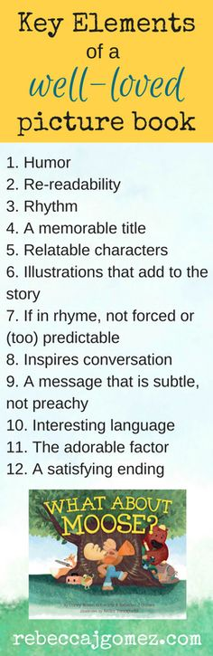 Look for these elements when choosing picture books to read with kids.