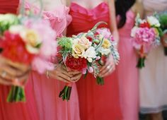 Pretty in pinks at a Santa Barbara Estate Wedding Photographed By Patrick Moyer - Lover.ly