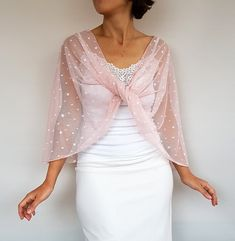 Wedding Dress Capelet, Capelet Dress, Lace Shrug, Bridal Shrug, Wedding Dress Sleeves, Wedding Bolero, Lace Wrap, Long Sleeve Wedding, Tulle Fabric