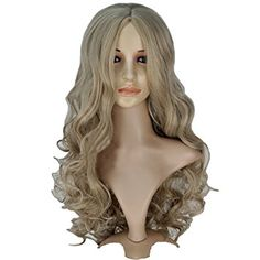Synthetic Wigs Romantic Black Wig Fei-show Synthetic Heat Resistant Carnival Halloween Costume Cos-play 26 Inches Long Curly Hair Female Party Hairpiece Hair Extensions & Wigs