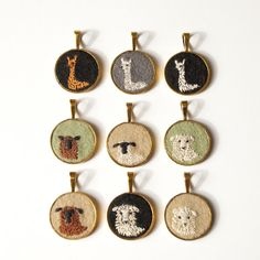 these great pendents can be found on etsy under knit knit