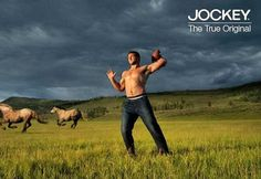 I love wild horses. That's why I pinned this. No other reason. Oh, and Jockey underwear is pretty good. That's all.