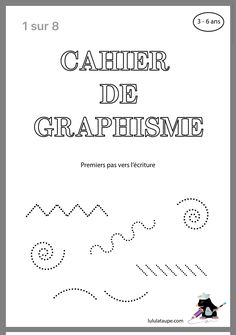 GraphismeYou can find Graphisme gs and more on our website. Autism Education, Preschool Education, Teaching Kids, Kids Learning, Montessori Activities, Learning Activities, Alphabet Writing, Home Schooling, Learning Centers