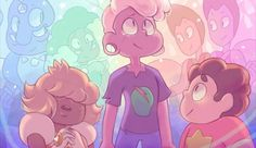 ❤ Fluorite, Rhodonite, The Rutile Twins, the Padparadscha Sapphire, Pink Lars, and Steven ❤