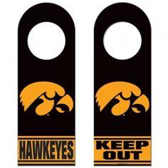 Iowa Hawkeyes Door Hanger - Mills Fleet Farm