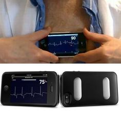 New medical device, ECG on IPhone: cardiology follow up from a distance.