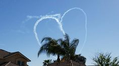 Air show from home