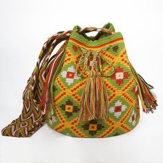 Wayuu Bag / Wayuu Mochila  Authentic Handmade by ColombianMadeShop, $140.00